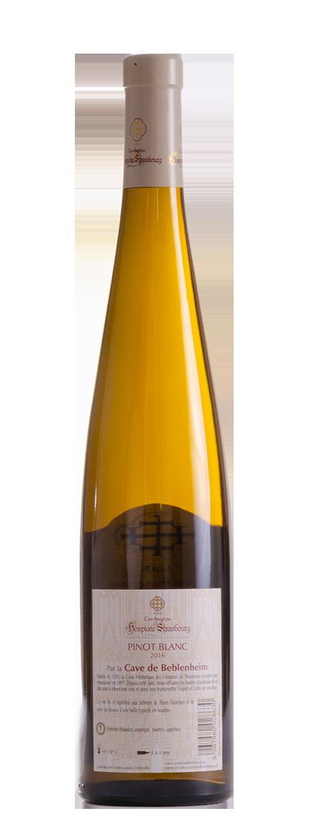 Pinot Blanc 2016 Cave vinicole de Beblenheim
