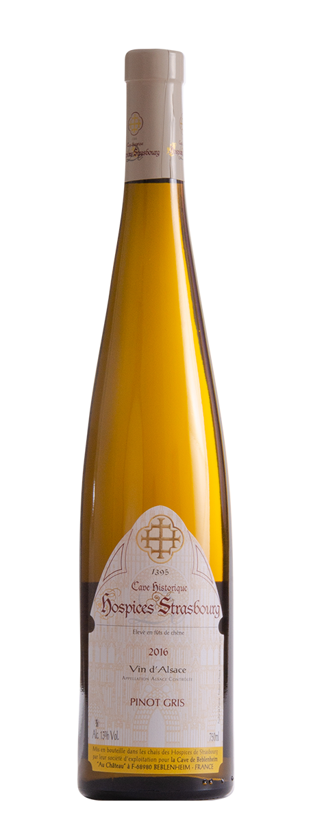 Pinot Gris 2016 Cave vinicole de Beblenheim
