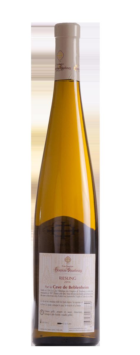 Riesling 2016 Cave vinicole de Beblenheim