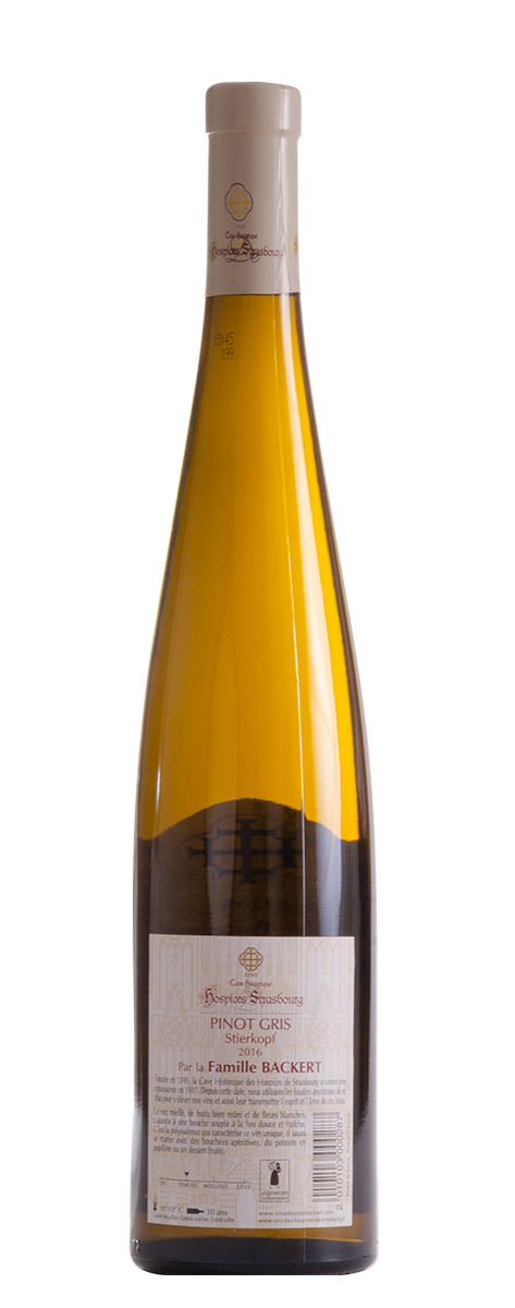 Pinot Gris 2016 Alsaces Backert