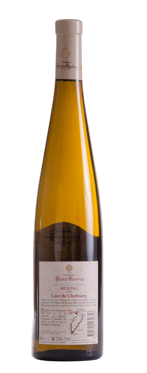 Riesling 2016 Cave de Cleebourg