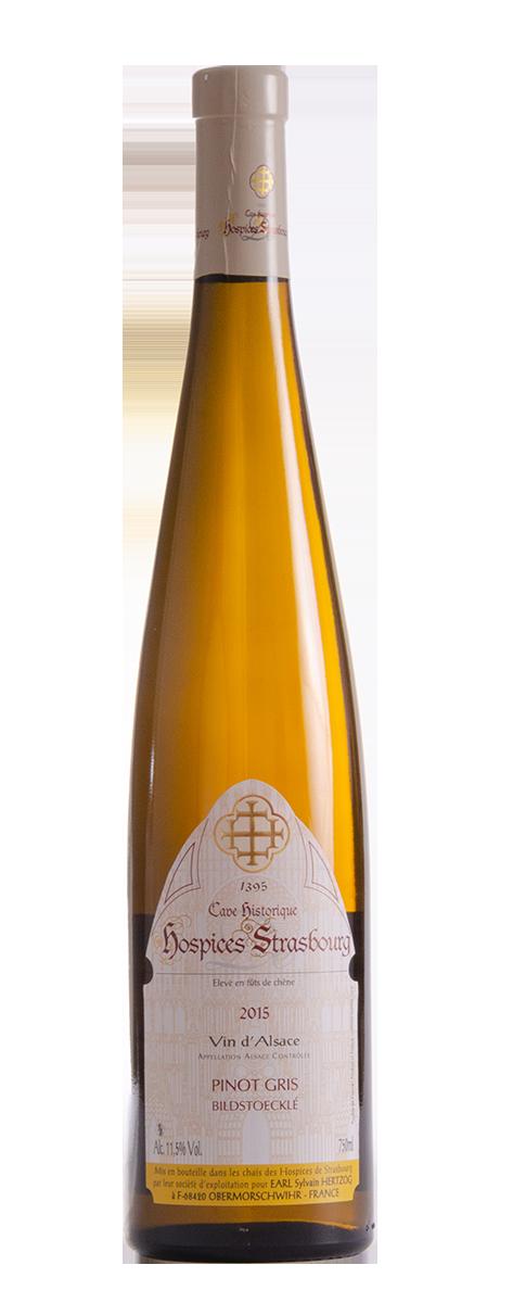 Pinot Gris 2015 Domaine Sylvain Hertzog