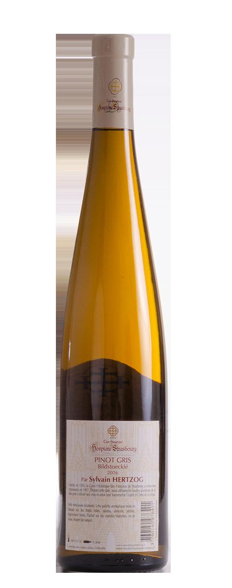 Pinot Gris 2016 Domaine Sylvain Hertzog