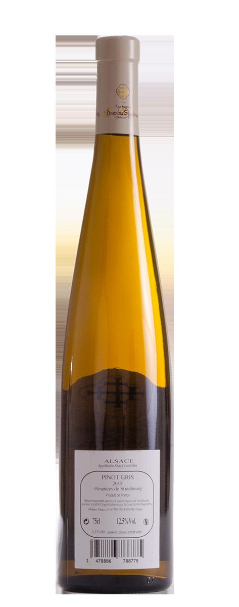 Pinot Gris 2015 Pinot Gris   2015   Cave de Traenheim