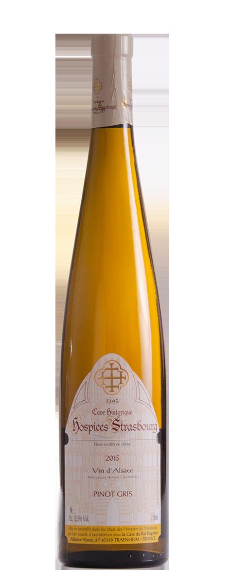 Pinot Gris 2015 Cave du Roi Dagobert