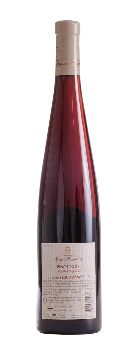 Pinot Noir 2016 Les vignobles Ruhlmann-Schutz