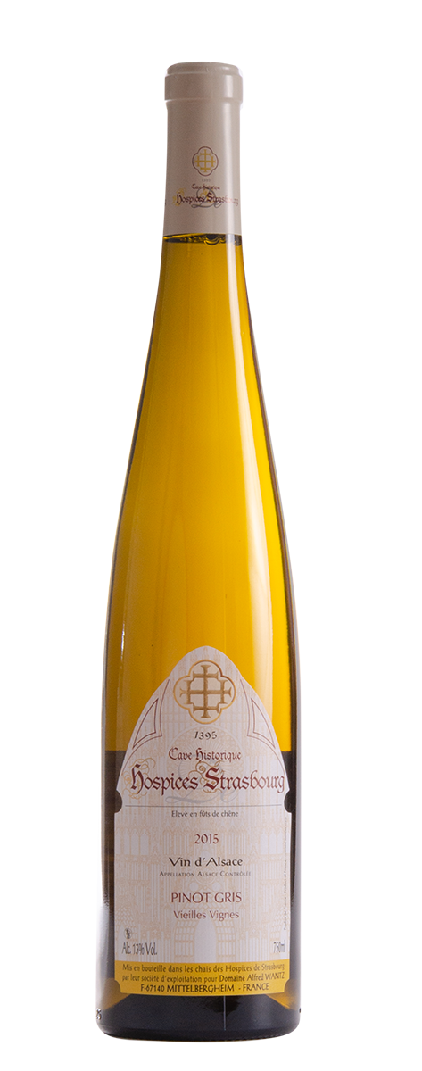Pinot Gris 2015 Domaine Alfred Wantz